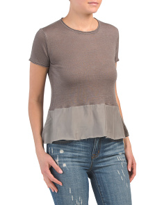 Zeke Peplum Top