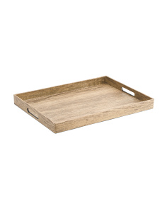 Poplar Finish Tray