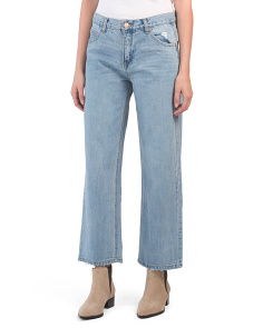 Kasey Rigid High Rise Crop Jeans