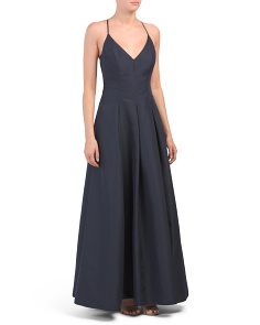 Mikado Crossback Gown