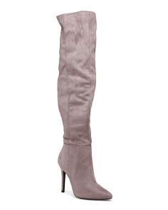 Pointy Toe Knee High Boots