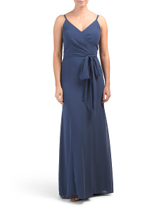 Surplice Top Gown