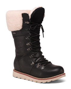 Waterproof Leather Temperature Rated Boots