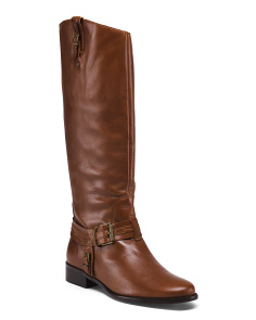 Made In Brazil Leather Knee High Boots