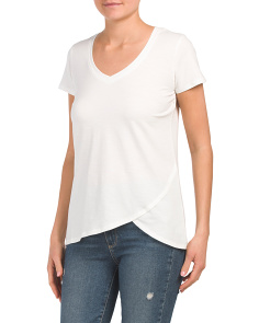 Virginia Hi-lo Asymmetrical Tee