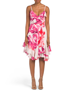 Peony Georgette Dress
