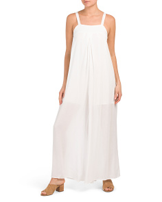 Juniors Wide Leg Jumpsuit