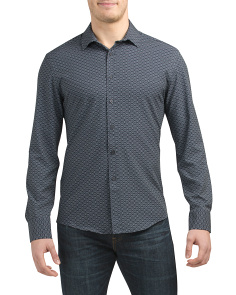 Long Sleeve Abstract Shirt