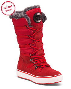 Waterproof And Insulated Tall Winter Boots