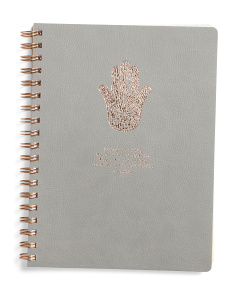 Hamsa Hand Journal
