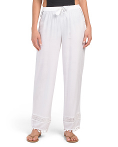 Pom Pom Cover-up Pants