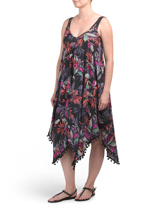 Hanky Hem Cover-up Dress