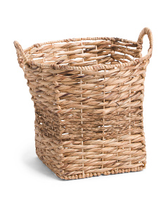Large Natural Braided Basket