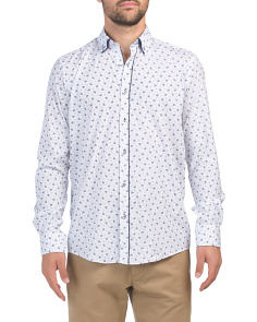 Long Sleeve Woven Printed Shirt