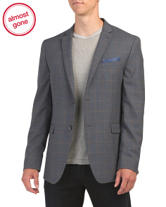 Slim Wool Blend Sport Coat