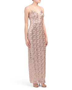 All Over Sequin Gown