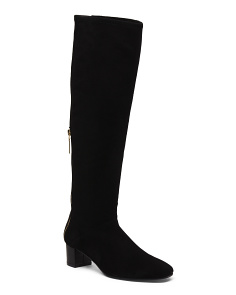 Made In Spain High Heel Knee High Boots