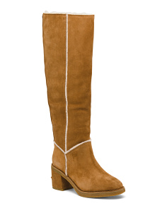 Shearling High Shaft Boots