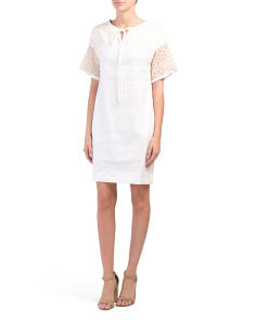 Made In Italy Popover Dress