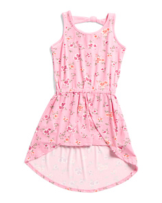 Big Girls Rose Walk Thru Romper