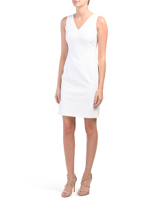 Made In Italy Zip Back Dress