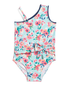 Little Girls One-piece Spring Dance Swimsuit