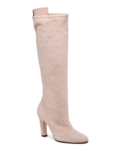 Made In Spain Suede Knee High Boots