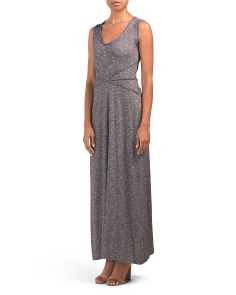 Sleeveless Knit Maxi Dress