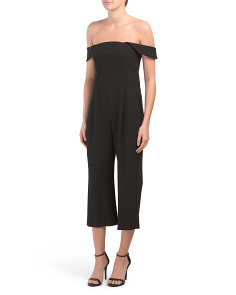 Made In Usa Cropped Jumpsuit