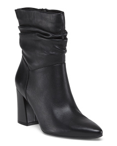 Slouch Leather Boots