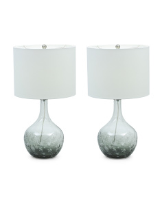 Set Of 2 Ombre Lamps