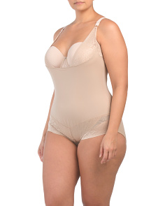 Plus Open Bust Body Briefer