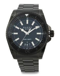Men's Swiss Made Dive Bracelet Watch