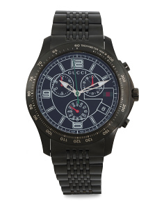 Men's Swiss Made Chrono Timeless Bracelet Watch