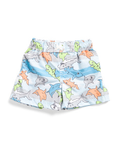 Infant Boys Shark Swim Trunks