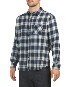 Long Sleeve Recycled Flannel Shirt