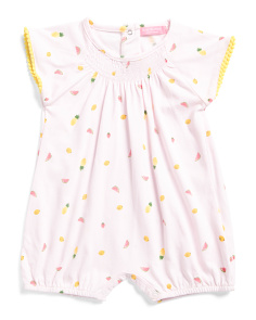Infant Girls Fruit Romper