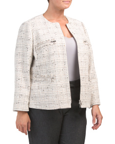 Plus Tweed Emelyn Jacket