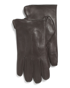 Glace Leather Gloves