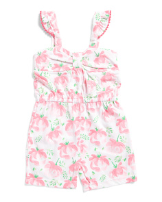 Infant Girls Rose Romper