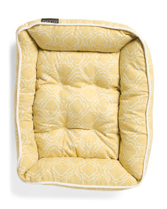Madison Geo Texture Cuddler Dog Bed