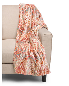 Sienna Printed Throw