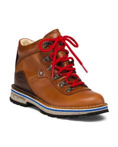Full Grain Leather Hiker Boots