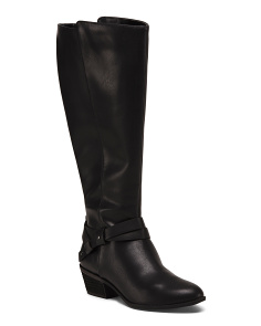 Wide Calf Comfort Knee High Boots