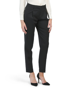 Petite Wool Blend Rivington Pants