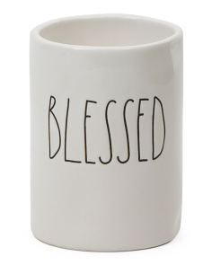 16oz Vanilla Blessed Candle