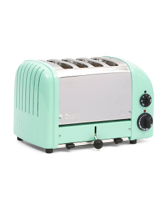 Made In Great Britain 4 Slice Retro Toaster