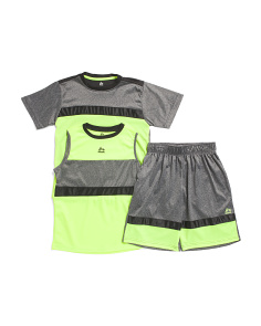 Big Boys 3 Piece Active Short Set