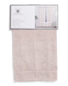 38x84 Set Of 2 Crest Linen Look Curtains