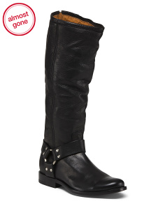 Harness Leather Boots